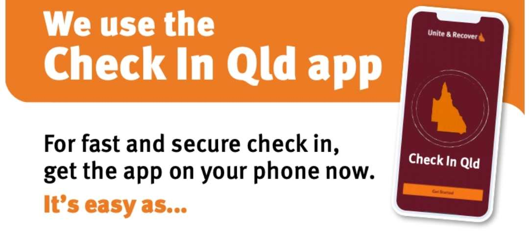 It is Now Mandatory To Check-In Using The QLD App